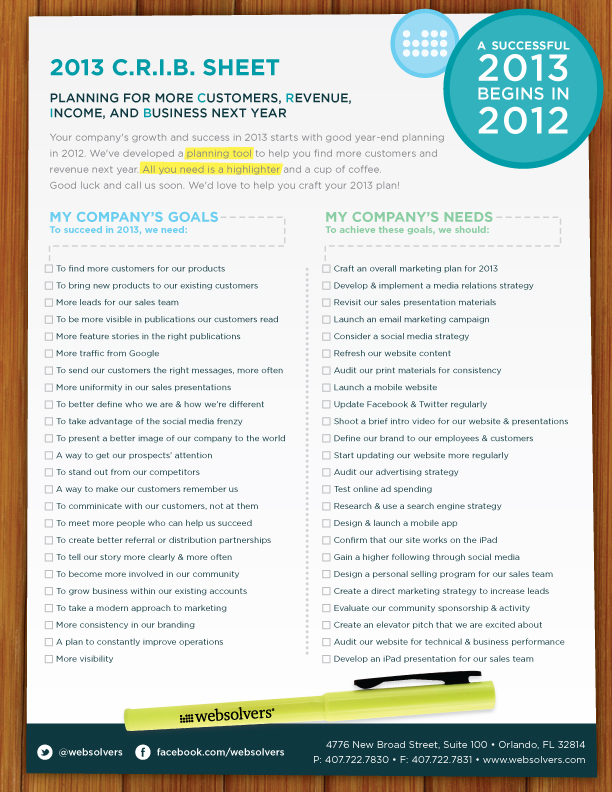 WebSolvers-2013-CRIB-Sheet