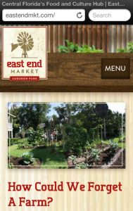 East End Market Mobile Site
