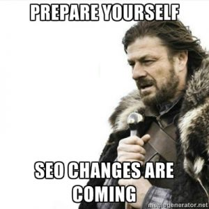 search engine optimization changes