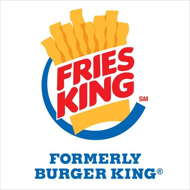 Burger King Fries King Campaign