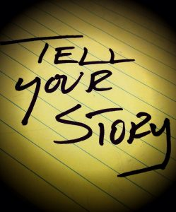 List the most important parts of your story first