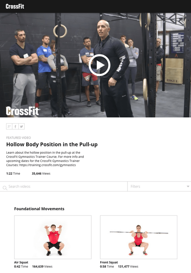 Cross Fit-Videos