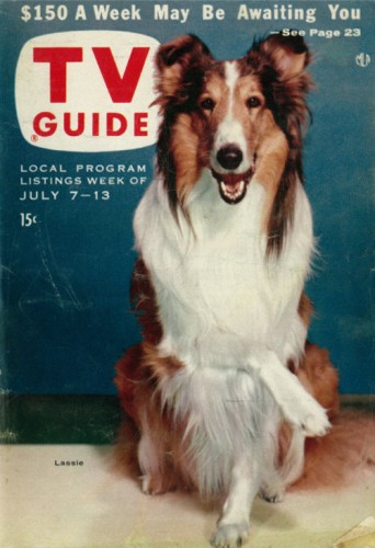 Lassie on TV Guide